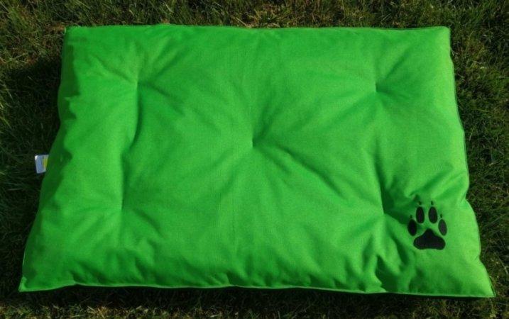 Matrace pro domácí mazlíčky - zelená s tlapkou - Výprodej