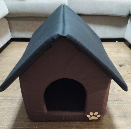 Domeček pro domácí mazlíčky - hnědý - Výprodej
