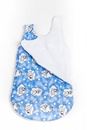 Spací pytel - modrý - dalmatin
