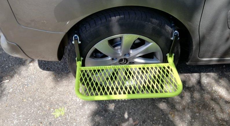 "Stupačka na kolo auta - pneu od 17"""