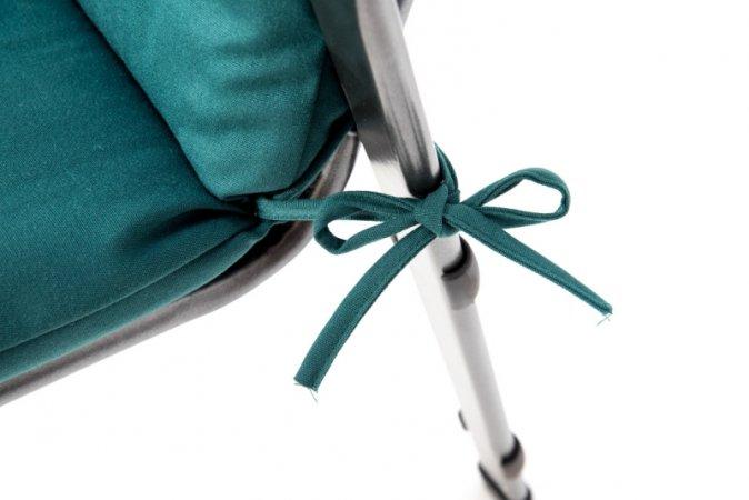 Podsedák na zahradní židli Standard se šňůrkou - 110 x 50 - zelený