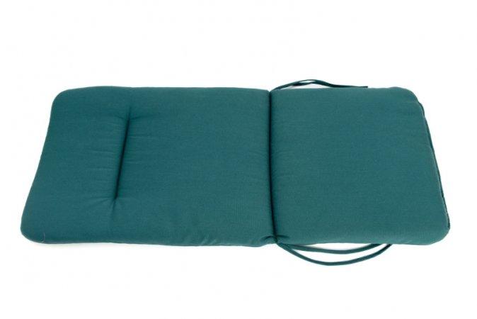 Podsedák na zahradní židli Standard se šňůrkou - 120 x 50 - zelený