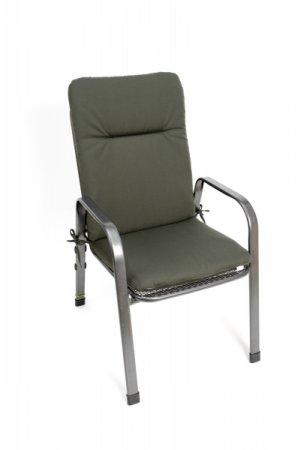 Podsedák na zahradní židli Standard se šňůrkou - 110 x 50 - šedý