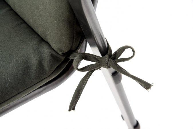Podsedák na zahradní židli Standard se šňůrkou - 120 x 50 - šedý