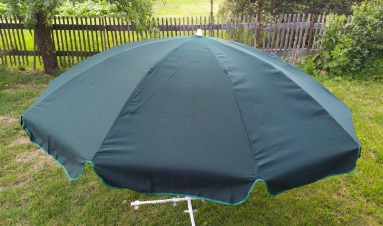 Slunečník - 250 cm - zelený -