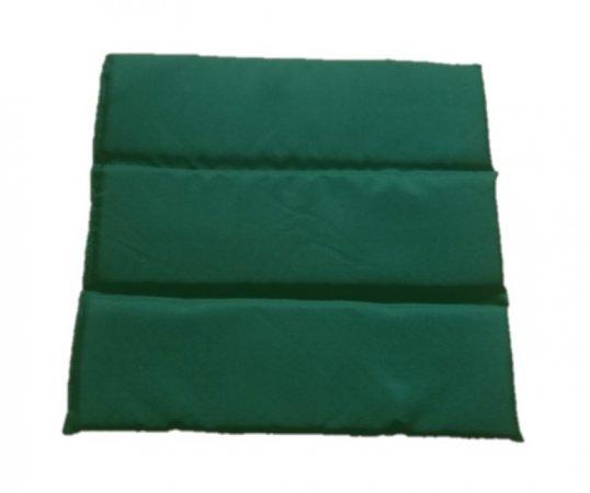 Podsedák skládací - 37 x 39 x 2 -  zelený