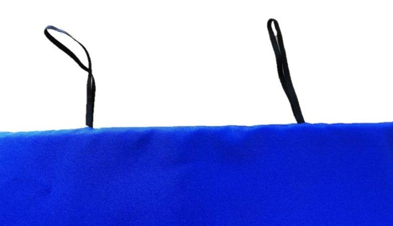 Podsedák skládací - 37 x 39 x 2 - modrý