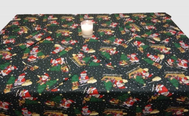 Vánoční ubrus + prostírání