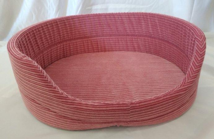 Pelech pro domácí mazlíčky - růžový manšestr - Výprodej