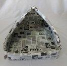 Domeček pro domácí mazlíčky - pyramida - noviny - Výprodej