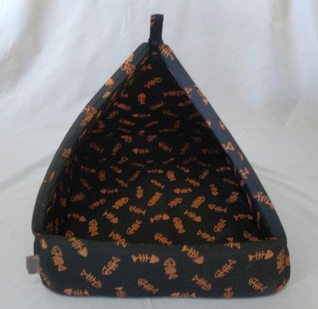 Domeček pro domácí mazlíčky - pyramida - fish - Výprodej