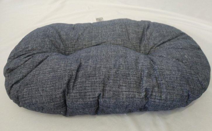 Polštář pro domácí mazlíčky - šedý žíhaný - Výprodej