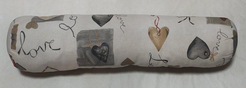 Polštář válec - Love - 75 x 15 cm - Výprodej