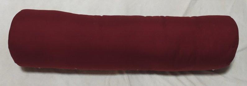 Polštář válec - Vínový - 75 x 15 cm - Výprodej