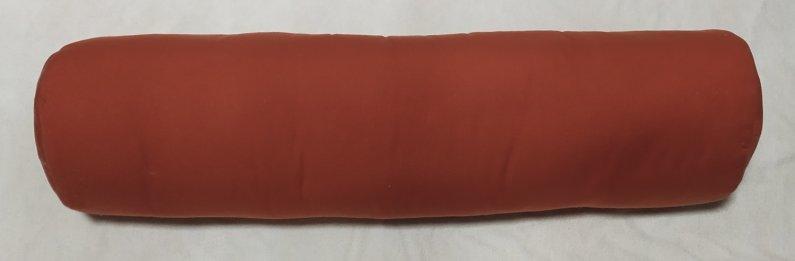 Polštář válec - Oranžový - 75 x 15 cm - Výprodej