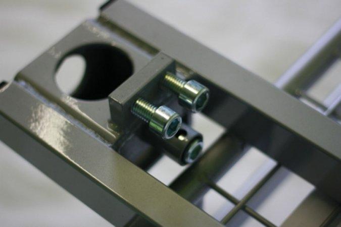 Nosič na auto STANDARD s ohrádkou - zinek - 60 x 120