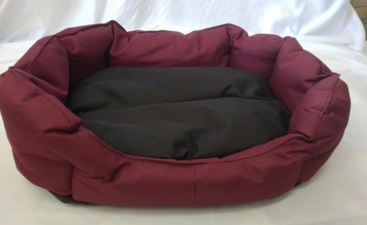 Pelech pro domácí mazlíčky - fialovo-černý - Výprodej