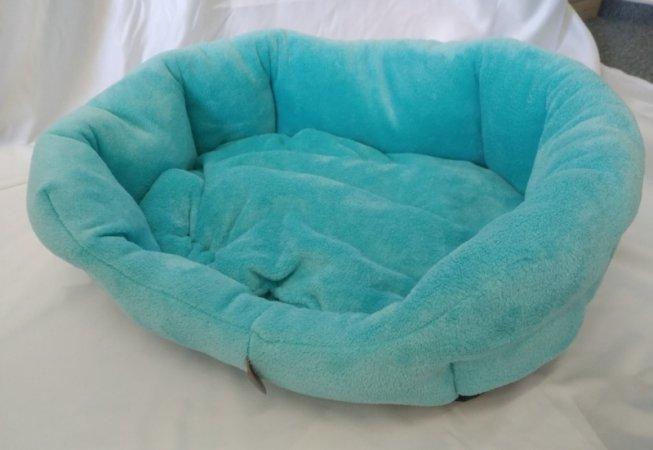 Pelech pro domácí mazlíčky - světle modrý fleece - Výprodej
