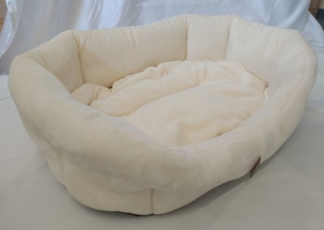 Pelech pro domácí mazlíčky - krémový fleece - Výprodej