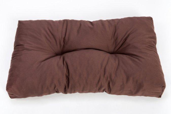 Polštář na paletový nábytek - 70 x 40 cm - hnědý