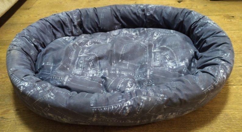 Pelech pro domácí mazlíčky - džínový - Výprodej